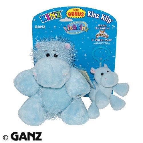 Webkinz Plush Hippo & Kinz Klip Combo - 1