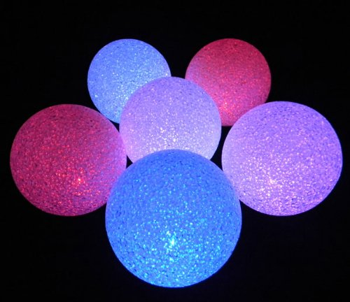 Sparkle Orb, Battery Operated Color Changing Led Light Ball, 5 Inch