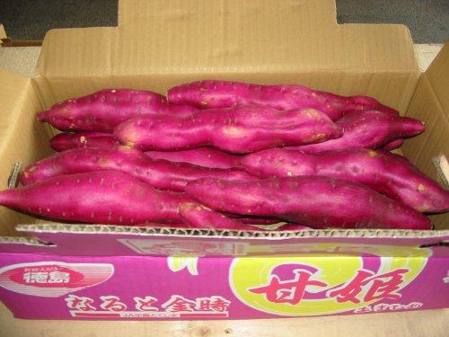 徳島県産さつまいも 鳴門金時 Lサイズ 5kg詰め