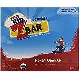 Clif Kid Z Bar, Organic Honey Graham, 6 ct, 7.62 oz, case of 6