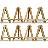 10Pcs Wood Table-Top Easels Drawing Boards Easel for Artwork Display