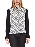 Pepe Jeans London Camisa Mujer Sheila (Negro)