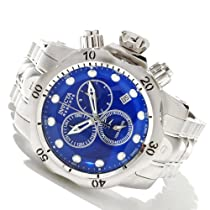 Invicta Mens Reserve Venom Swiss Made Chronograph Blue Dial Stainless Steel Watch 10531