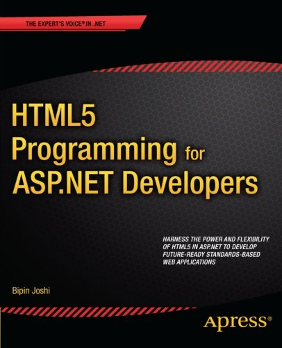 HTML5 Programming for ASP.NET Developers 1430247193 pdf