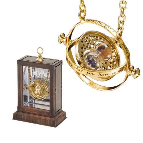 Harry Potter - 24 Karat Gold Plated Hermione Grangers Time Turner Necklace