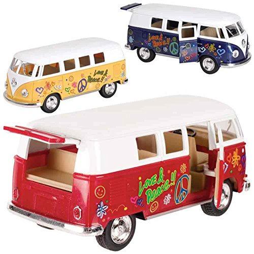 Toysmith Flower Power VW Bus