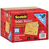 "Scotch 3M Bubble Mailers Size 0 (6"" x 9"") - 25ct"