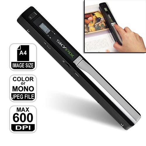 Scanner portatile wireless A4 senza fili 900 DPI usb scan pc microSD notebook MWS