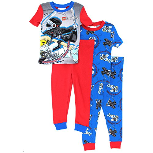 Lego-Ninjago-Boys-4-pc-Cotton-Pajamas