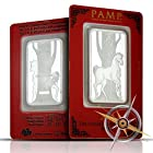 2014 PAMP Suisse 1 oz Lunar Horse Silver Bar