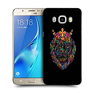 Snoogg Lion King Designer Protective Back Case Cover For SAMSUNG GALAXY J7 2016 J710X
