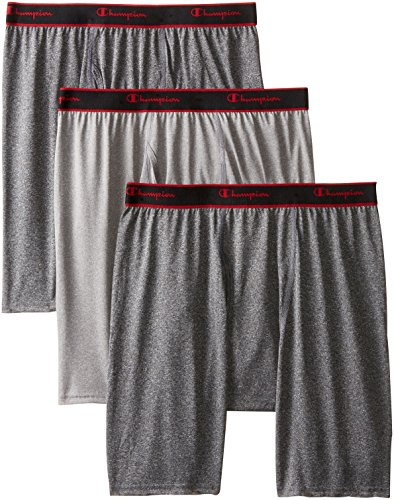 Champion Active Performance Long Boxer Brief 3-Pack CPLBBG M