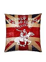 Beverly Hills Polo Club Funda De Cojín Aspen (Rojo / Azul / Beige)