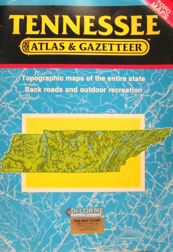 Tennessee/Atlas and Gazetteer (Topo Maps)