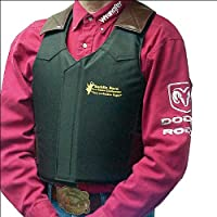 Saddle Barn Adult Black Cordura Pro Rodeo Bronc Protective Vest from SADDLE BARN