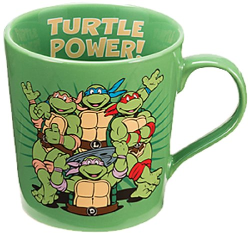Vandor 38061 Teenage Mutant Ninja Turtles 12 Oz Ceramic Mug, Multicolor