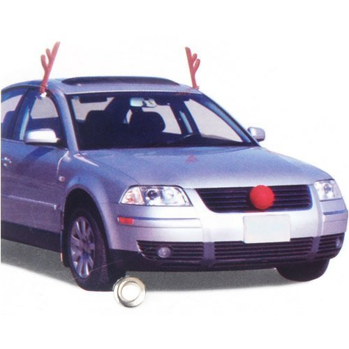 Car Reindeer Antlers and Nose and Other Christmas Car ...