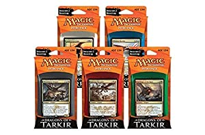 Magic: the Gathering: Dragons of Tarkir - Combo Intro Pack / Theme Deck (Set of All 5 Intro Packs / Decks including Alternate Art Promo Cards)
