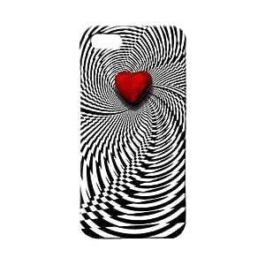BLUEDIO Designer 3D Printed Back case cover for Apple Iphone 5 / 5S / SE - G5066