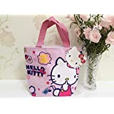 Cjb Sanrio Hello Kitty Lovely Multipurpose Lunch Bag Pink Finger (Us Seller)