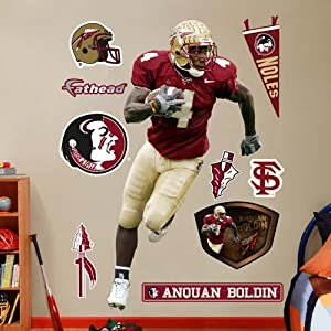 NCAA Florida State Seminoles Anquan Boldin Wall Graphic by Fathead