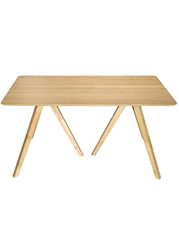 Tavolo pratica di pranzo di legno: Rovere
