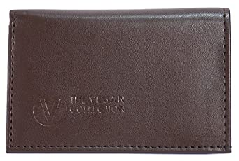 The Vegan Collection Men's Armstrong Brown Tri-Fold Wallet
