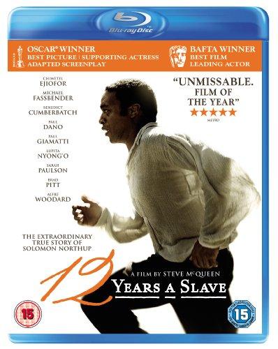 12 Years A Slave Blu Ray Blu-ray