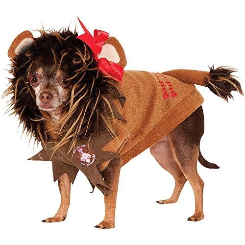 Wizard of Oz: Cowardly Lion Dog Costume