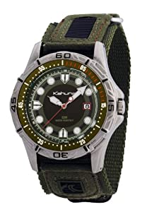 Kahuna K5V-0003G Mens Green Rip Strap Watch