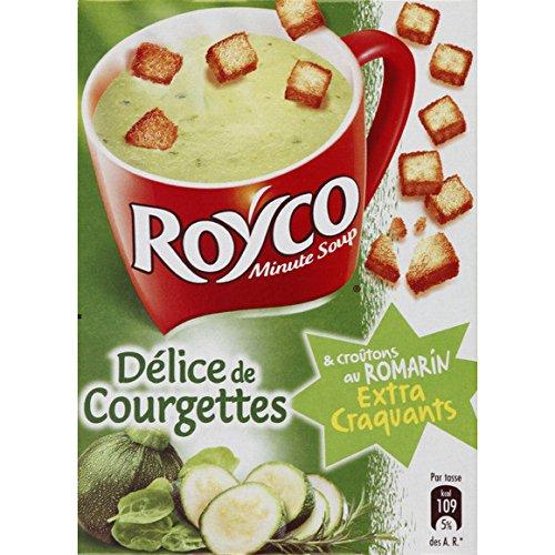 Royco - Délice de courgettes et croutons au romarin - Le sachet de 60g - (pour la quantité plus que 1 nous vous remboursons le port supplémentaire)