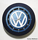 New Volkswagen Cars & Suvs Logo Black Frame Custom Wall Clock Gift