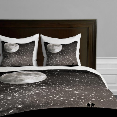 DENY Designs Shannon Clark Love Under The Stars Duvet Cover, Queen