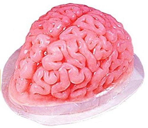 Gelatin Brain Mold (Gruesome Halloween Ideas)