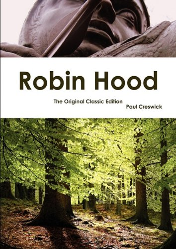 Large book cover: Robin Hood