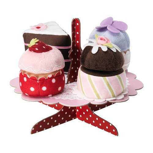 Grattis 5-p Serving Stand with Cupcakes Set - 1