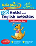 Goldstars Bumper Workbook 200 Maths and English Activities Reception (Gold Stars Bumper Workbooks) Parragon Books - Gold Stars