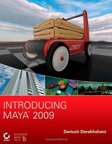 3D Book Introducing Maya 2009