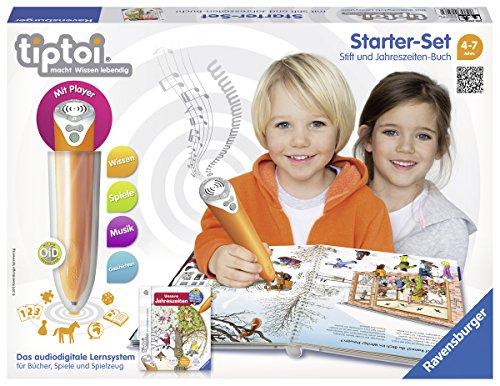 Ravensburger 00506 - tiptoi Starter-Set mit Stift und Buch Wieso? Weshalb? Warum? Unsere Jahreszeiten