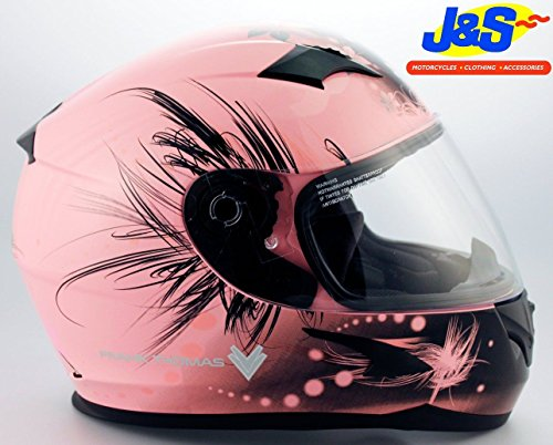 frank-thomas-ft36-ladies-pink-motorcycle-helmet-womens-motorcycle-js-medium-m-58-cms