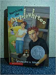 surviving the applewhites Jake has been expelled from school after school and a home school run by the eccentric applewhite family is his last chance each and every applewhite is an artist except for ed, who longs for order and predictability ed finds herself paired with jake in the family's first experiment in cooperative education and neither jake nor ed is happy.