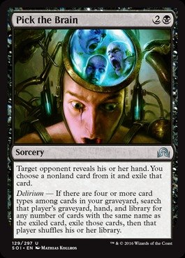 Magic: the Gathering - Pick the Brain - Shadows Over Innistrad (What Type Of Pick compare prices)