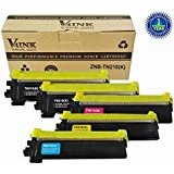 Compatible Laser Toner Cartridge for TN-210 Set (4 toners of BK, C, M, Y)