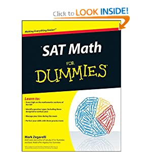 SAT Math For Dummies Mark Zegarelli