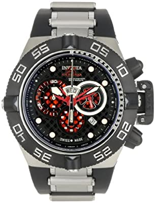 Invicta Men's 6569 Subaqua Noma IV Chronograph Black Rubber Watch