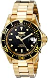 Invicta 8929 40mm Automatic Gold Steel Bracelet & Case flame fusion Men's Watch