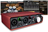 Focusrite Scarlett 2i2 Ultimate Studio Bundle with Toontrack EZmix 2 Lite and EZdrummer Lite