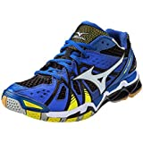 Mizuno Men's Wave Tornado 9 Volleyball Shoes - Dazzling Blue & Bolt