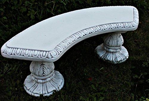 Gartenbank (C113), aus Steinguss, H:47cm L:135cm T:45cm, 125 kg (Schattiert) günstig bestellen