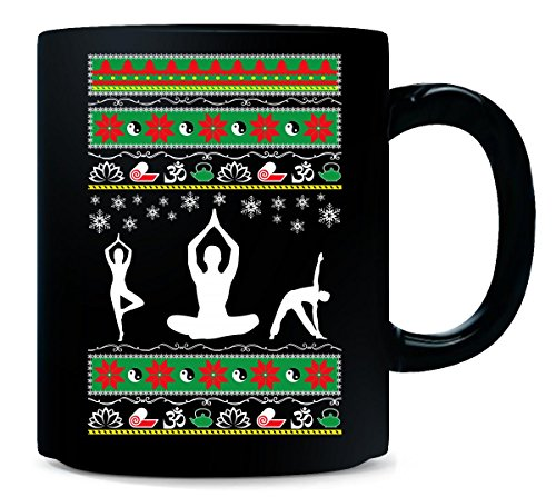 Ugly Christmas sweater Yoga